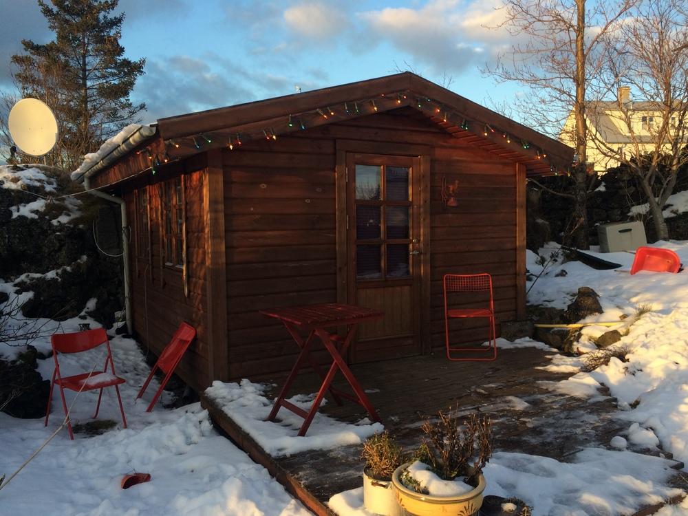 Ma Cabane Airbnb en Islande! :D