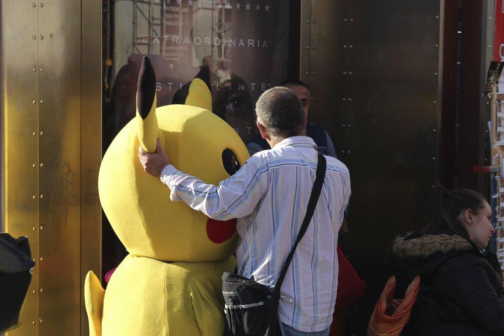 Pikachu et son potes, tous deux une vraie inner authority! ;)