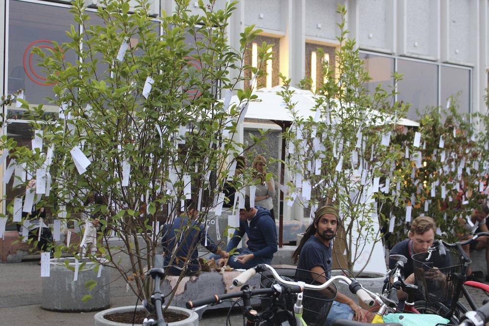 Arbre à souhaits, Copenhague