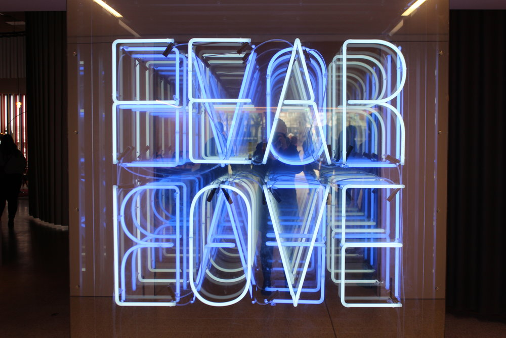 "Exposition ""Love and Fear"", Design Museum, London"
