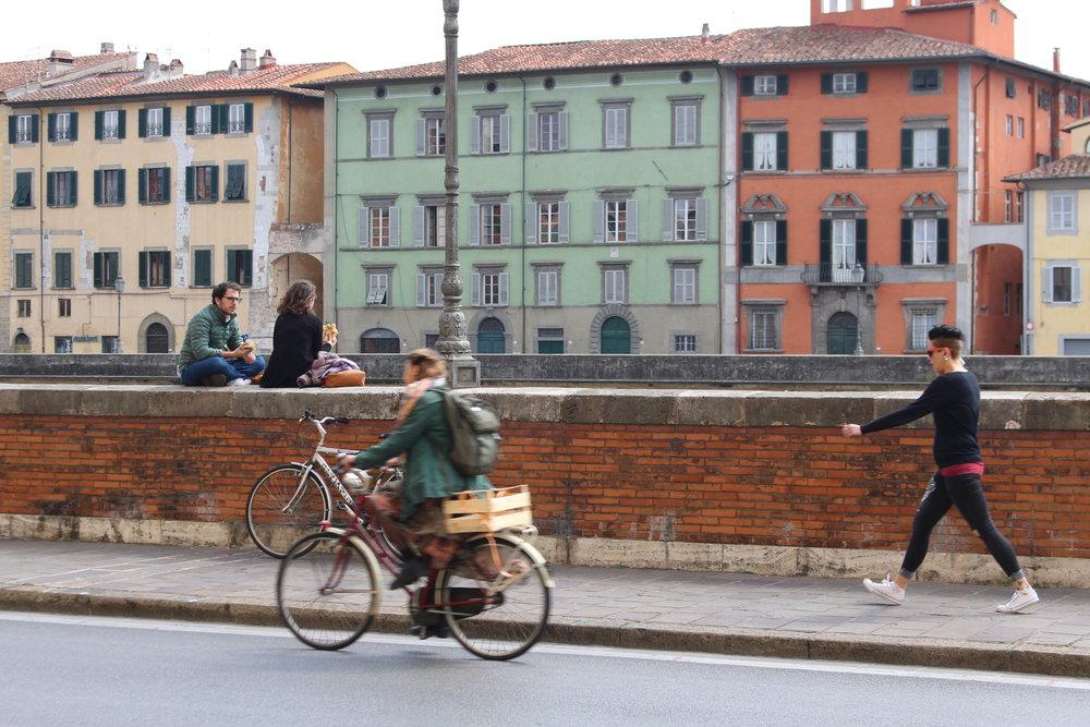City Life @Pisa, Italy