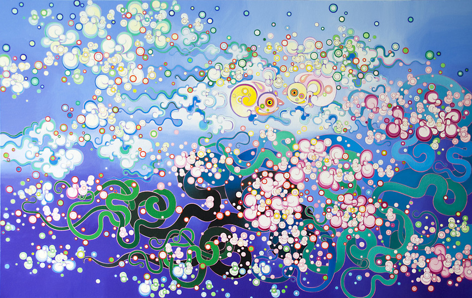 """Rebirth"" Oil on Canvas 190 x 120 cm 2012"