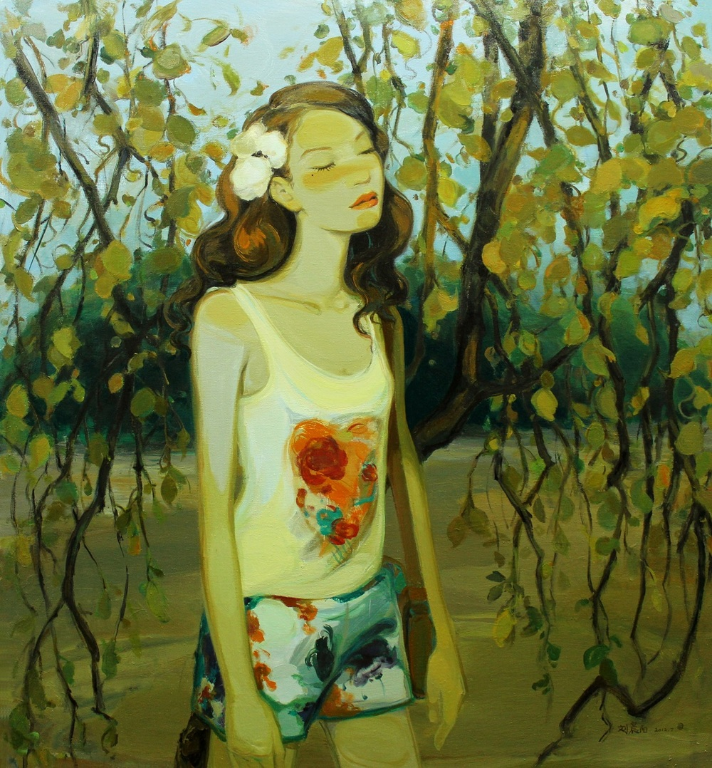 """Yesterday once more"" Oil on Canvas 120 x 130 cm 2012"