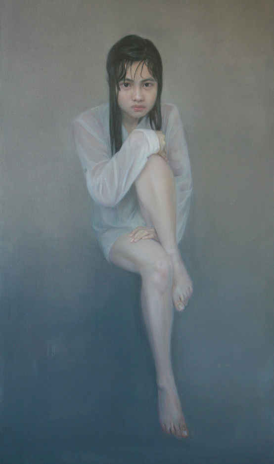"""Cold 1""   Oil on Canvas   60 x 120 cm   2010"