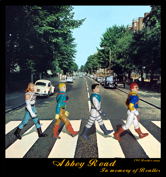 """Plastic Beatles"" Installation (Giclee print) Limited edition of 400 (signed by the artist) 2009"