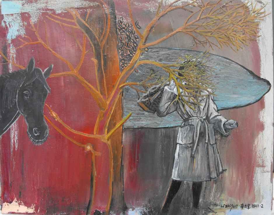 """Daydream""   Oil on Canvas   50 x 40 cm   2011"
