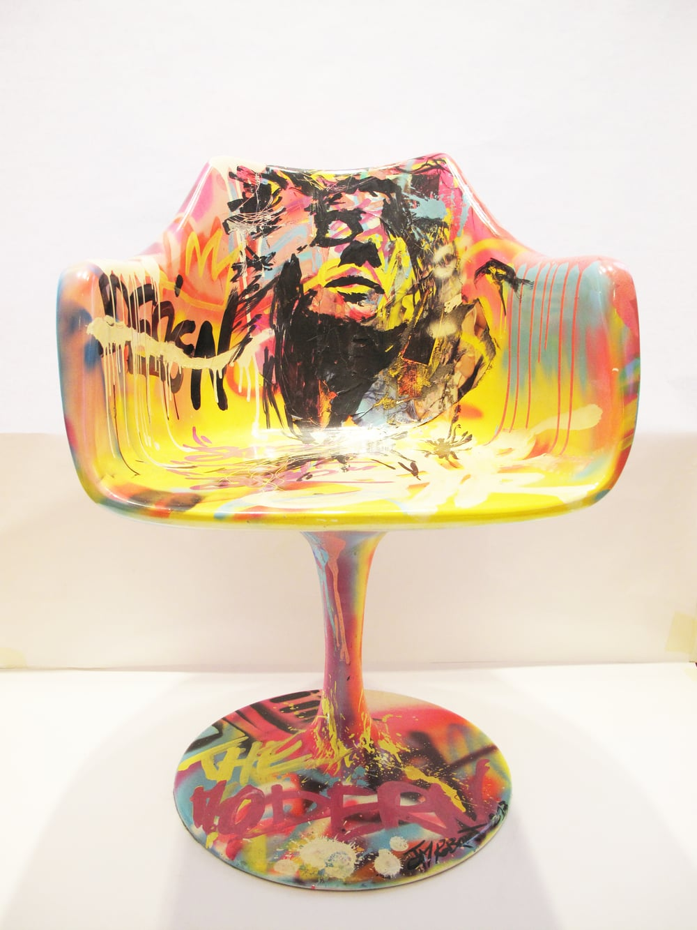 """Chair 2"" Mixed media 2013"