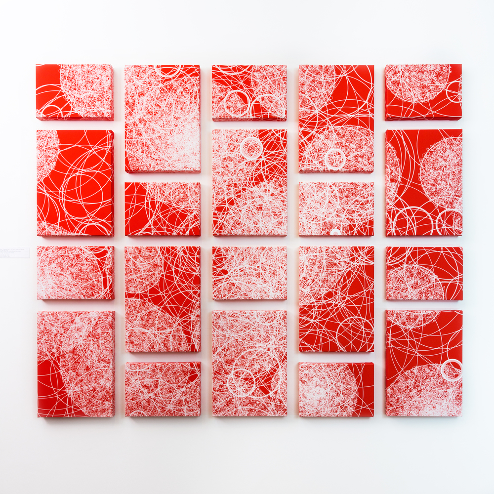 """Flatness, Wall 1""   Giclée on Canvas   168.5 x 141  cm   2015"