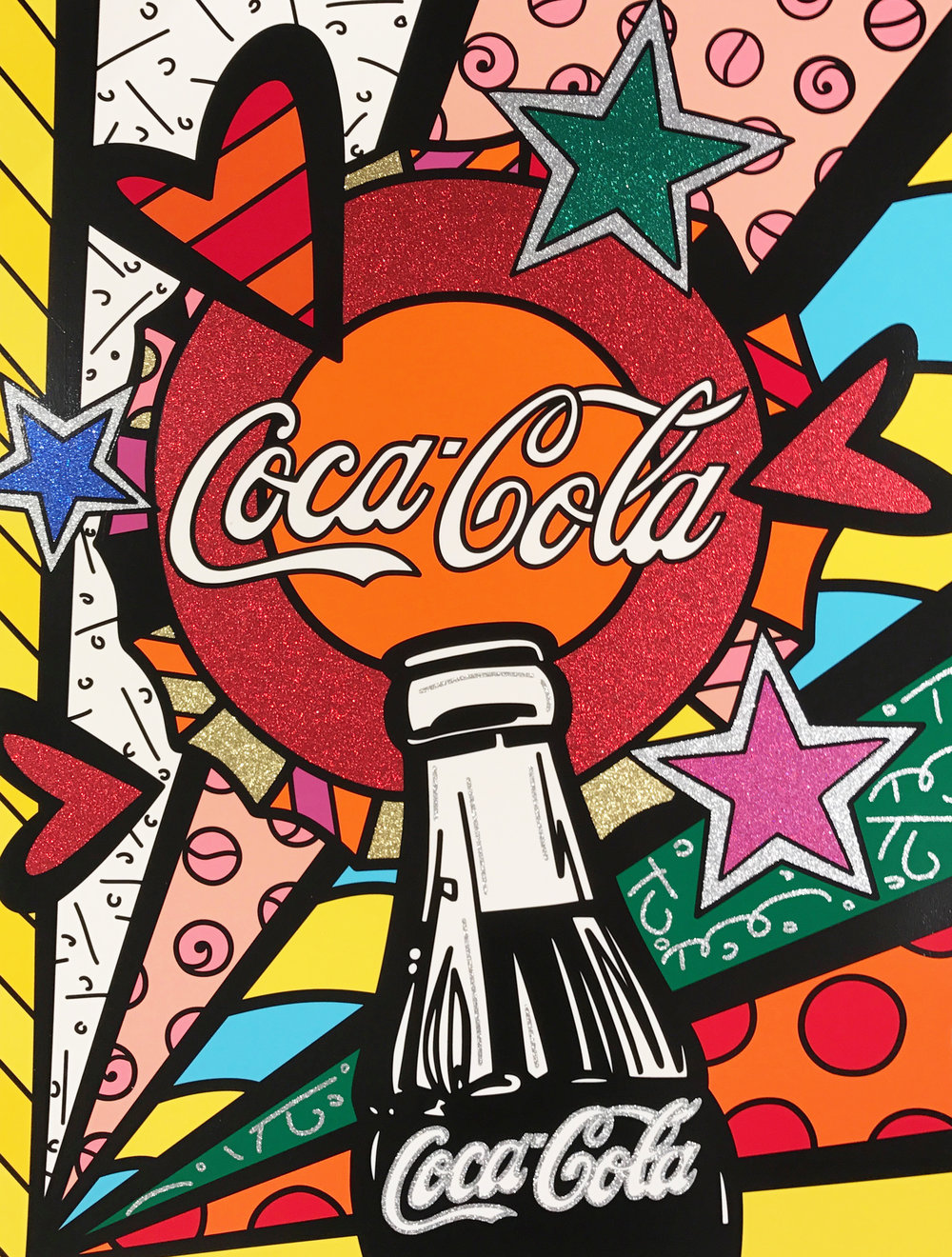 """Coca Cola III – Sunshine"" Serigraph,Limited edition, No. 10 of 100 101.6 x 76.2 cm 2016"