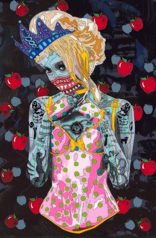 [Art Supermarket] Norman O'Flynn_Timekeeper52_Queen_Lightbox_150x100x10cm.jpg