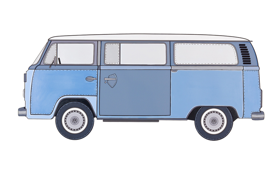 The VW Kombi Type 2