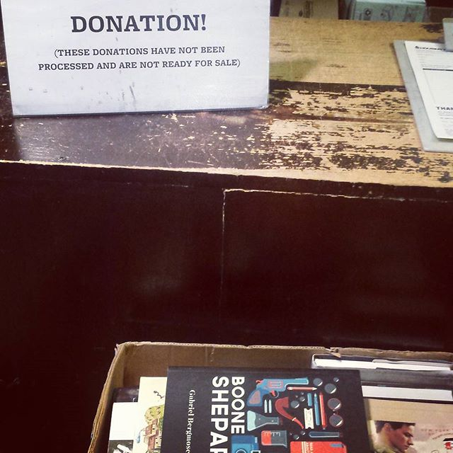 Donated a couple of copies of Boone to @housingworks and @housingworksbks today. Housing Works is a fantastic organisation with a mission to end the dual crisis of homelessness and HIV/AIDS. Proceeds from sales go towards this worthy cause. You know what you have to do.