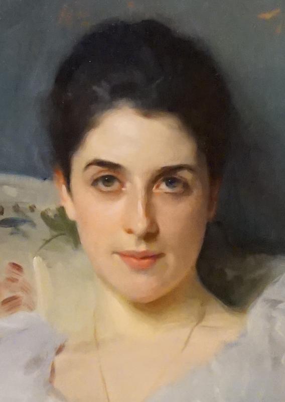 John Singer Sargent - face detail