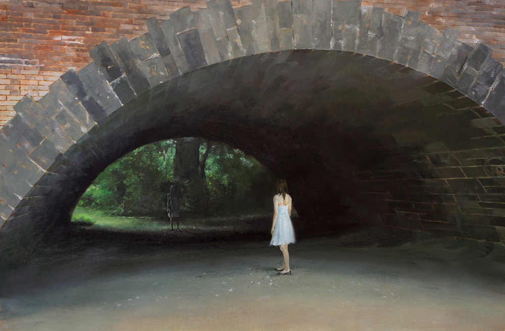 "The Other Side,  30""x20"", oil on linen. Sold"