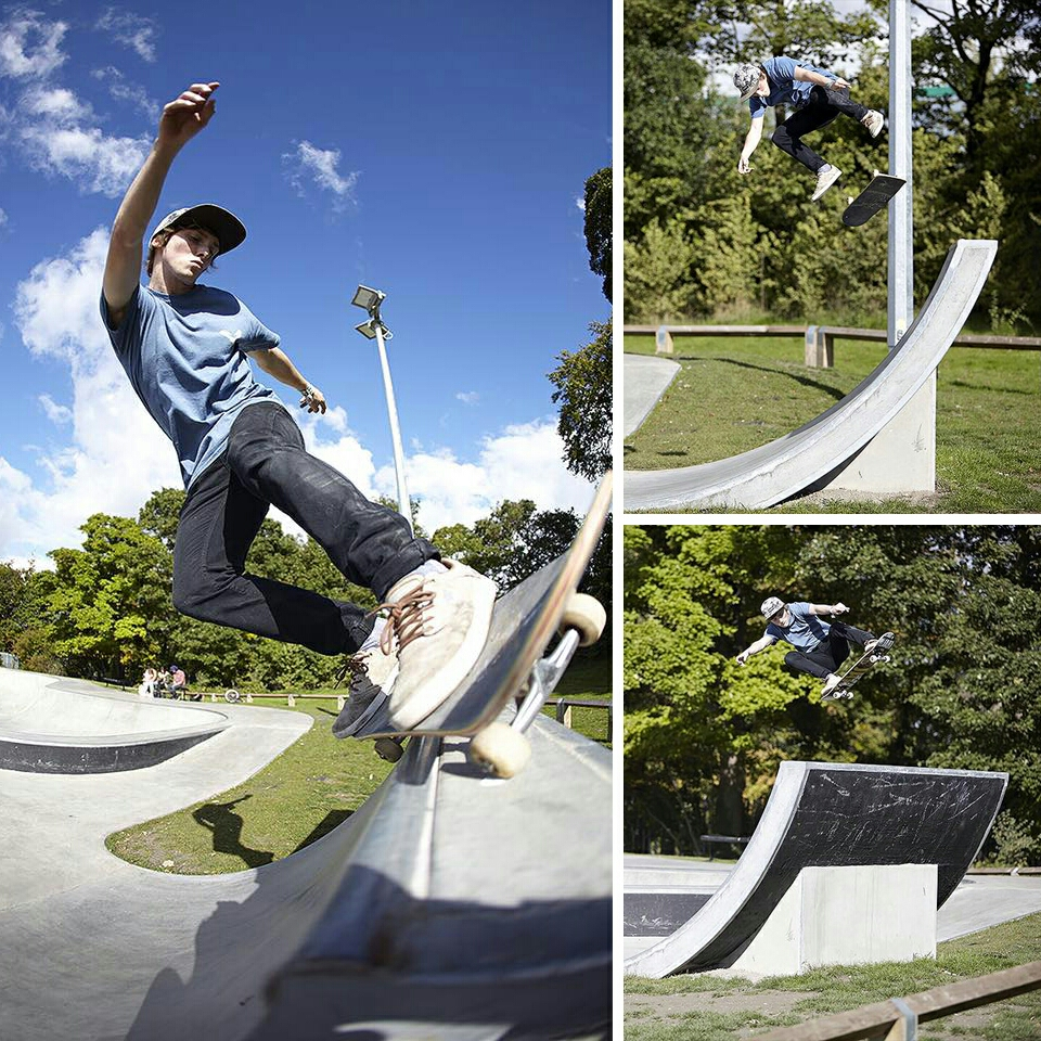 Alex DeCunha at Dunstable Skatepark. Photos by Jake Seal