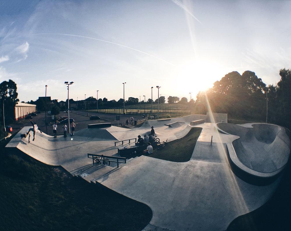 ⚡Dunstable Skatepark (LU5 4JD)📷 Josh Gaylor