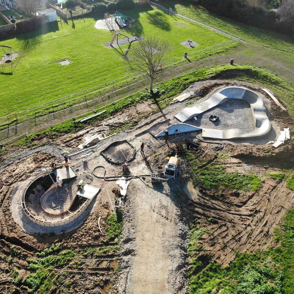 Wyke Regis in build