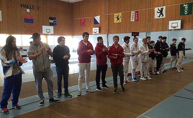 4. Platz für unsere Cadets. (Foto: Claudine Nielaba)