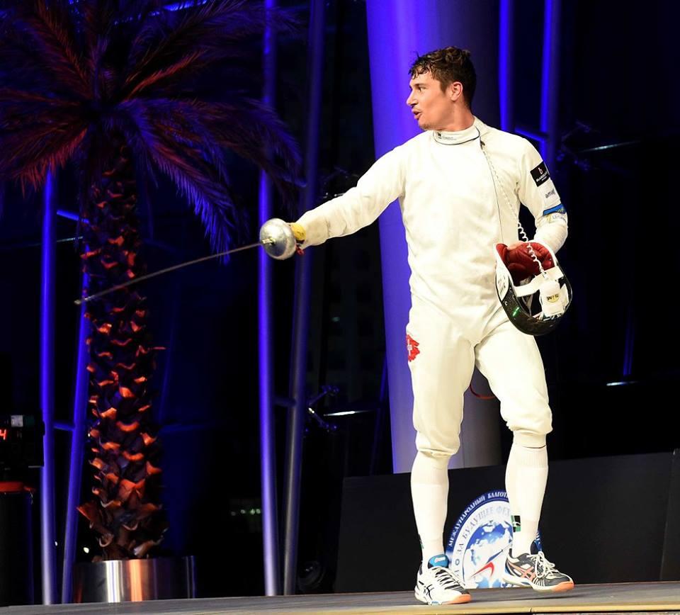Fabian Kauter vom Fechtclub Bern ist in Top-Form. (Foto: zvg)