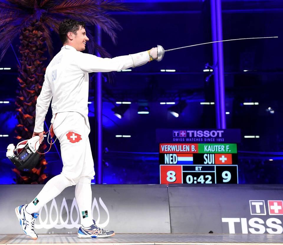 «Theoretisch kann ich jeden schlagen»: Fabian Kauter ist zuversichtlich für die Olympischen Spiele in Rio. (Foto: zvg)