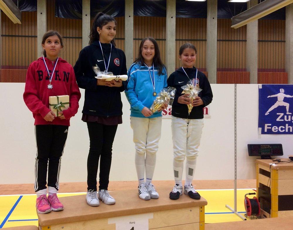 Magda-Louna Maiga eroberte den 2. Platz in der Kategorie «Benjamins».