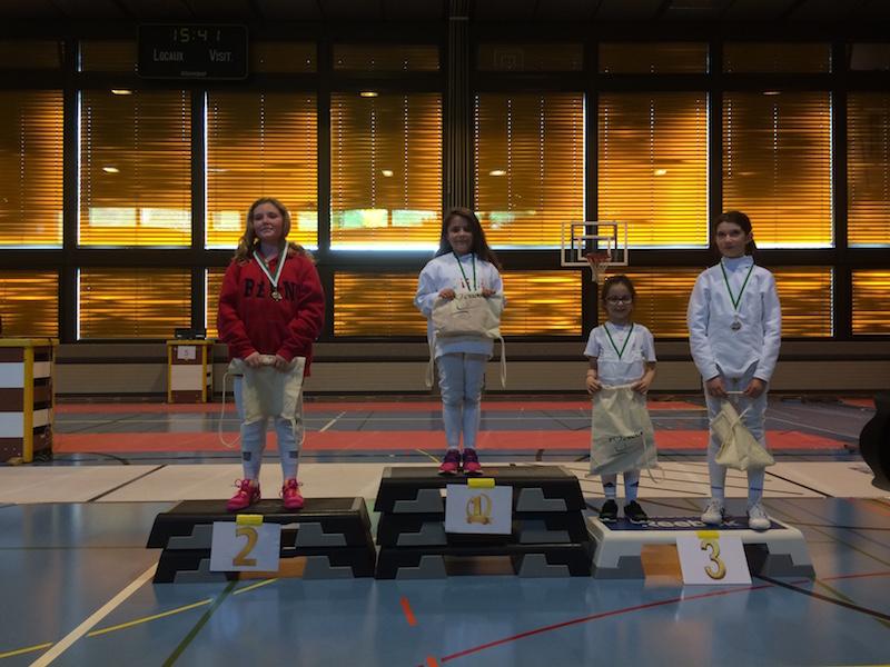 2. Platz für Anisha Rothen, U12