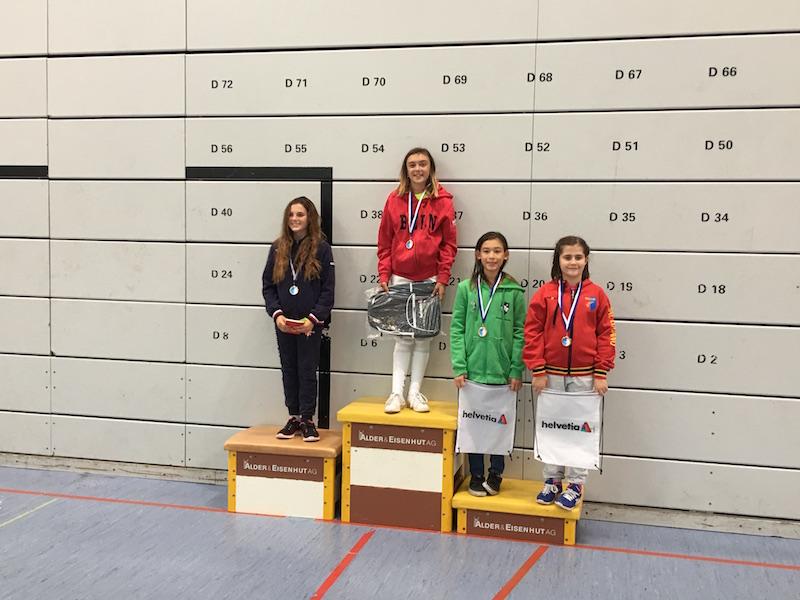 1. Platz für Leonie Ramuz vom Fechtclub Bern