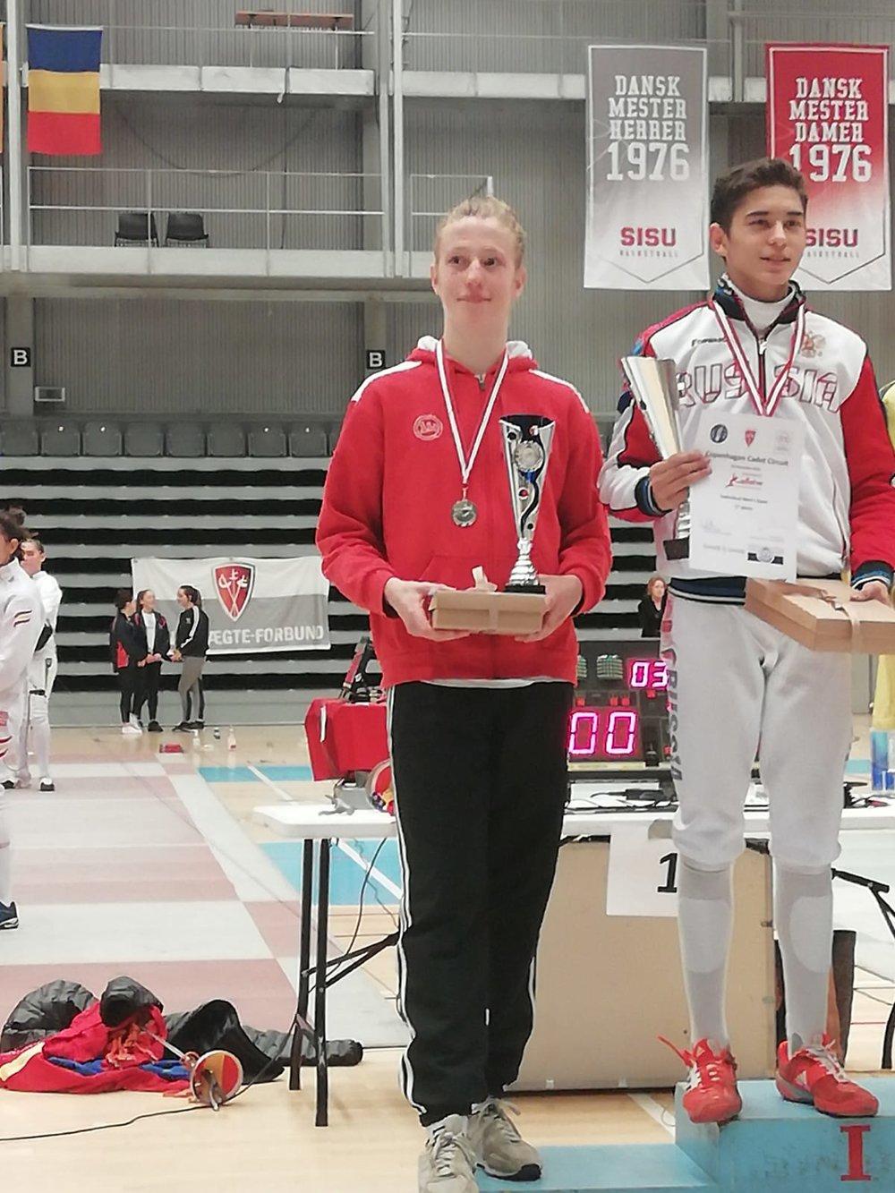 2. Platz für Jonathan Fuhrimann in Kopenhagen.