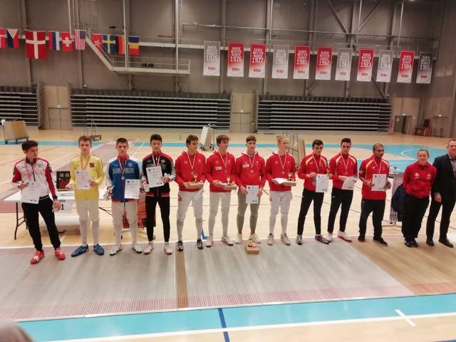 1. Platz für das Schweizer Team in Kopenhagen.