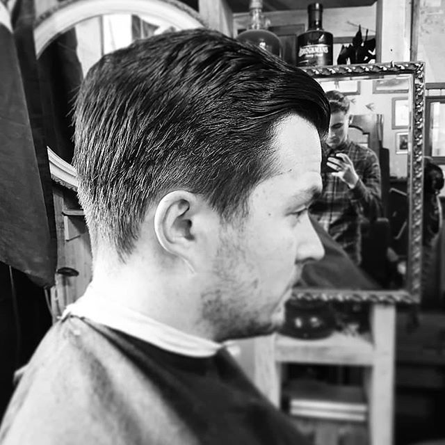 A clean finish crafted by Harry the Rooster (@coxy_barber) at Barbership: Clocktower using our suave all-vegan pomade 💯