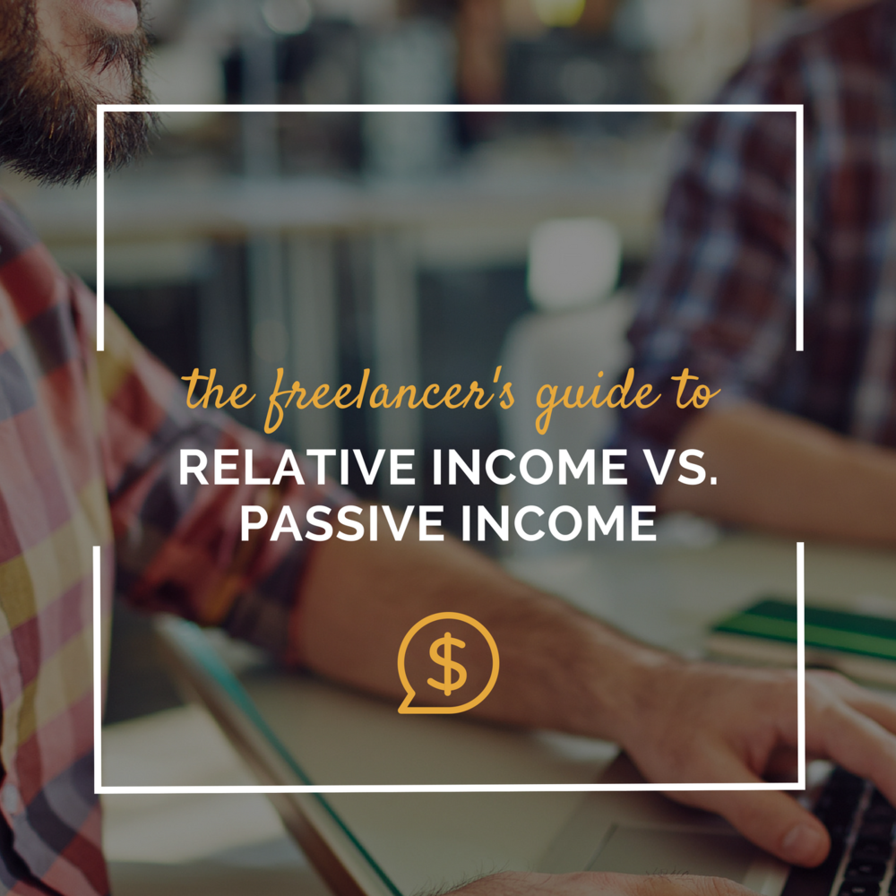 relative income passive income