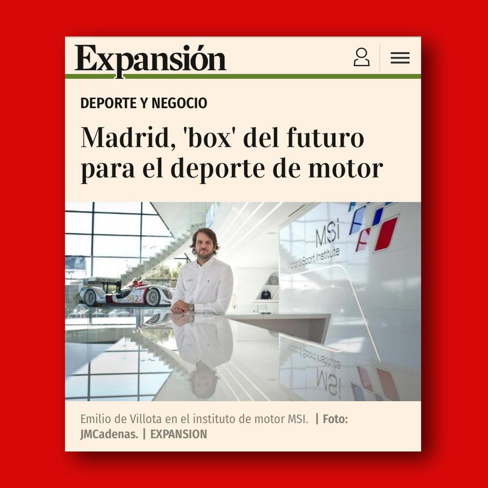motor sport institute expansion
