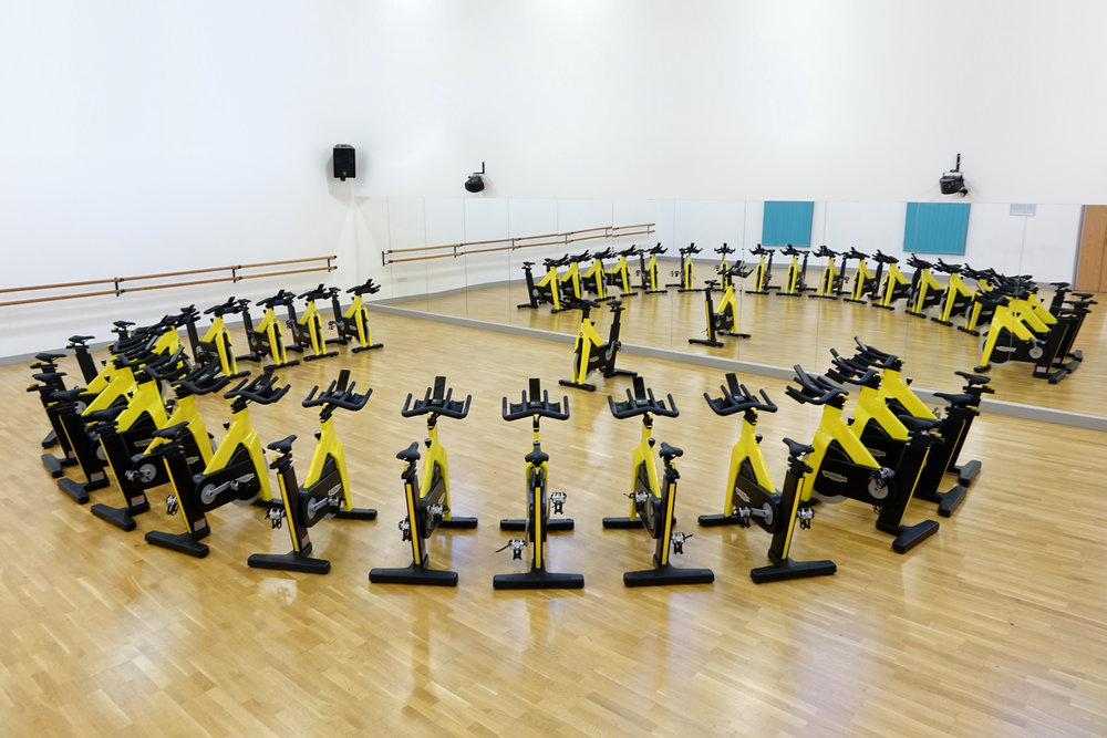 Brand New TechnoGym Spin Bikes