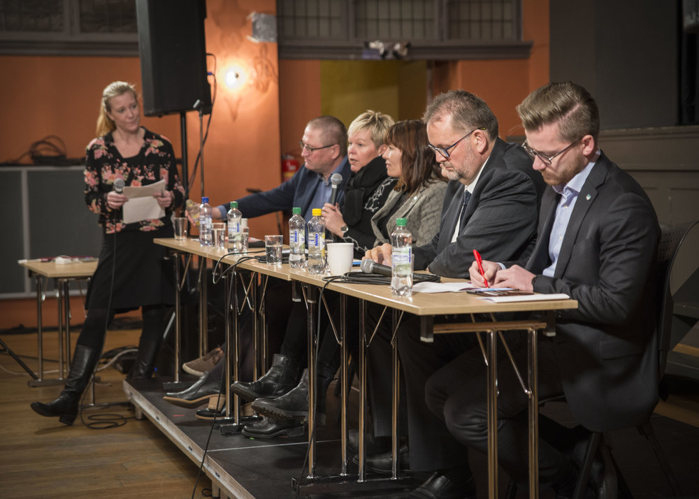 Paneldebatt om Rom for kultur