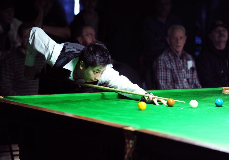 Alex Zhang... champion du Québec 2013
