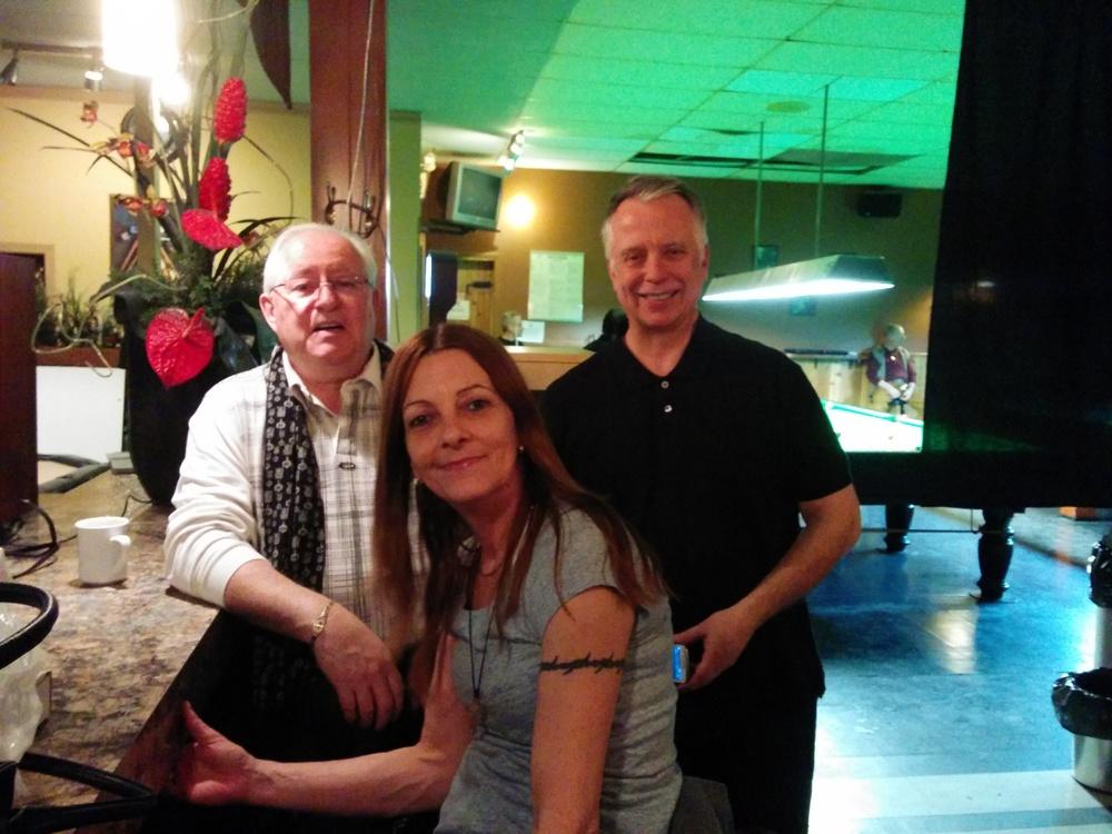 Bob Bouchard, Sylvie Hamel & Michel Payette