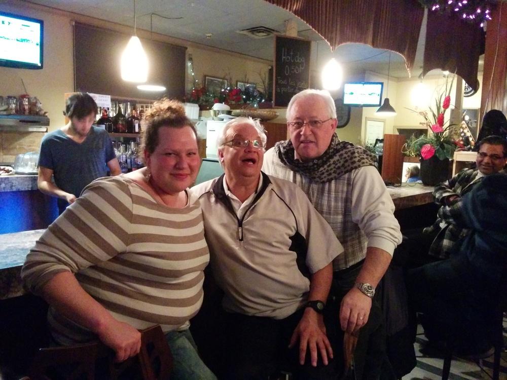 Audrey, Patrick & Bob