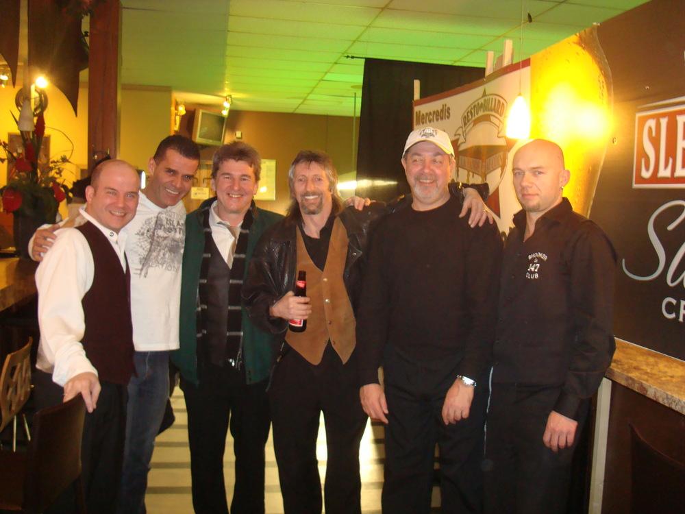 Jeff Kennedy, Pierre Sanscartier, Kirk Stevens, Yves Hort, Bob Chaperon & René Brind'Amour