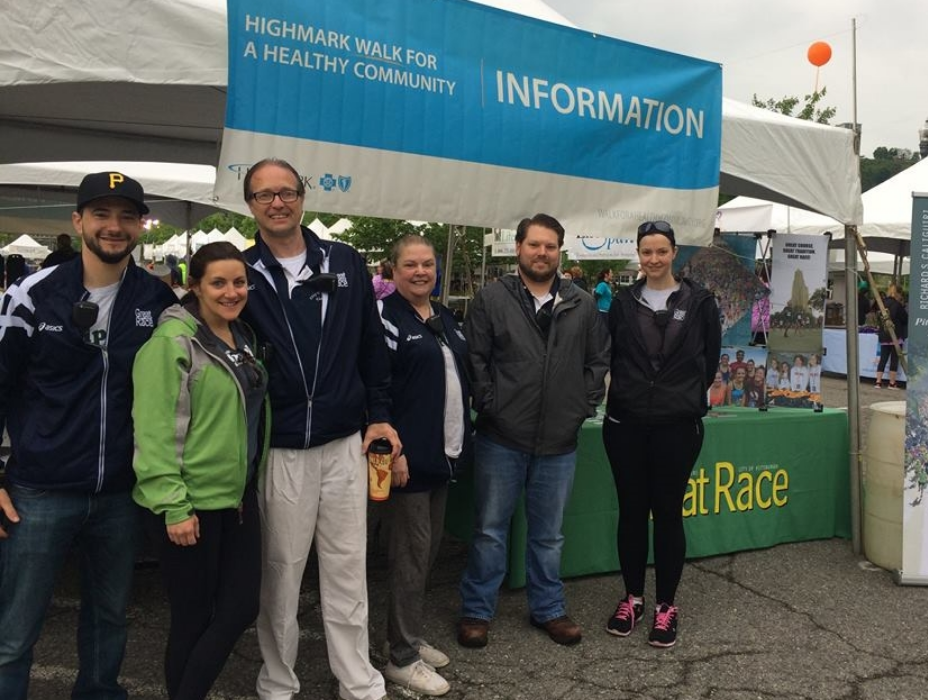 The Great Race at the Highmark Walk Event 2016