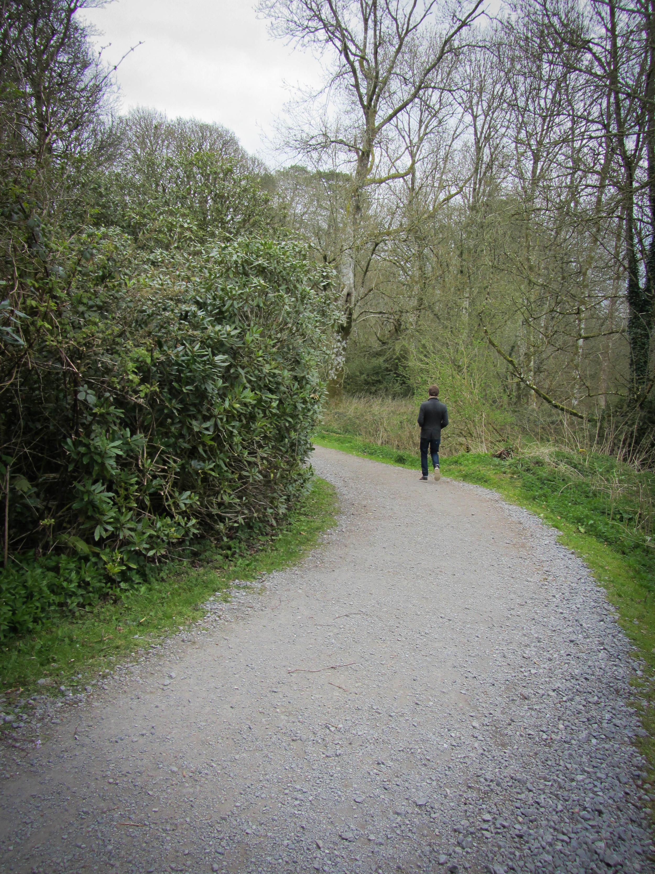 Strolling down