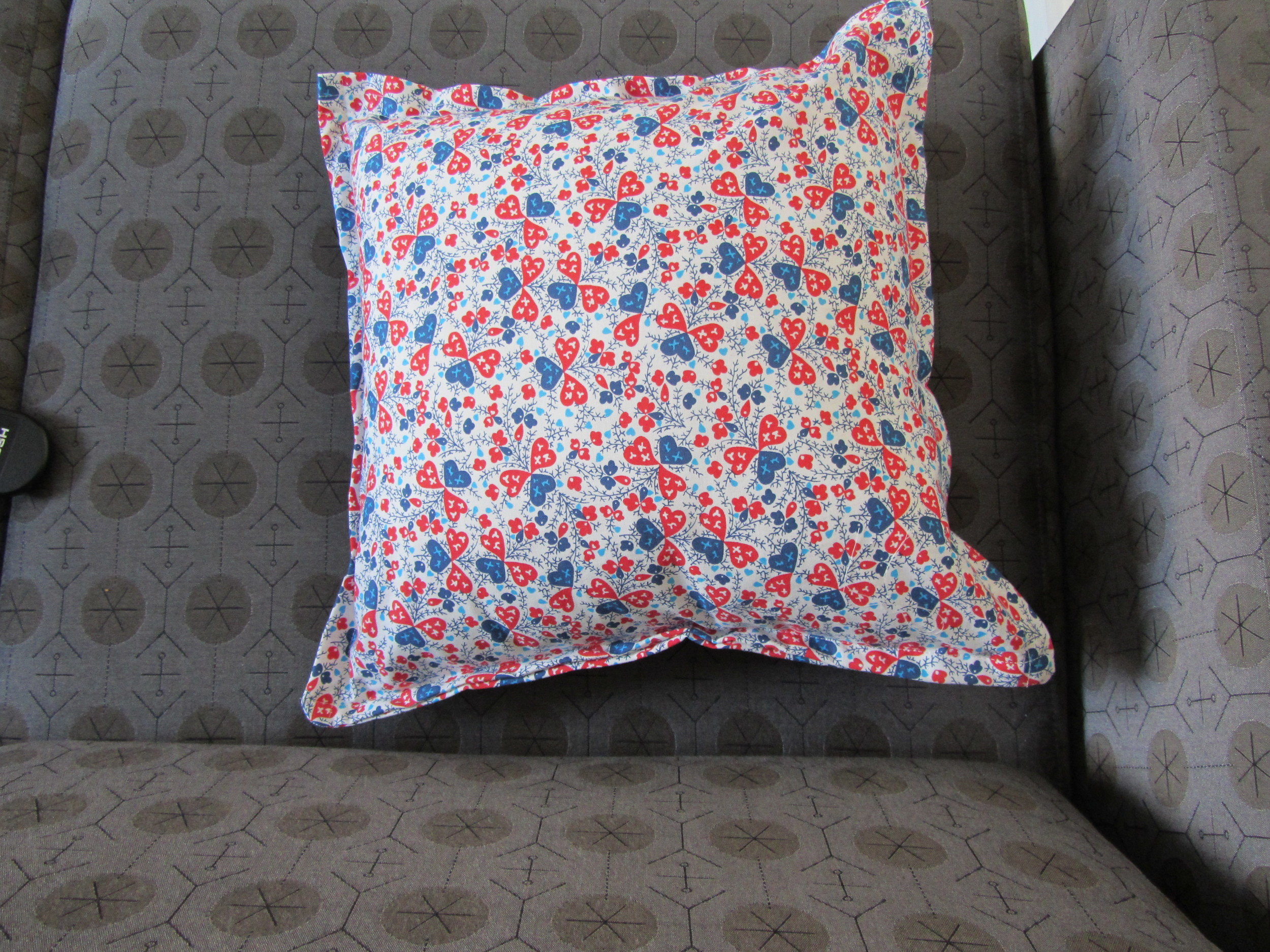Liberty print cushion