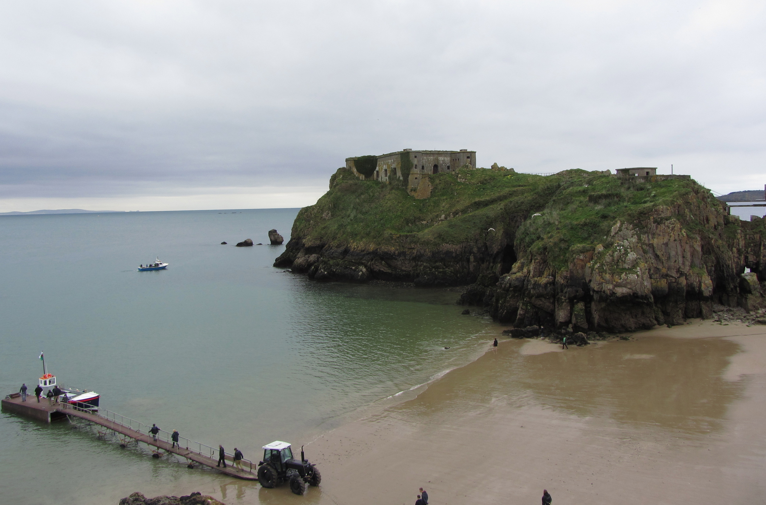 The sea at Tenby