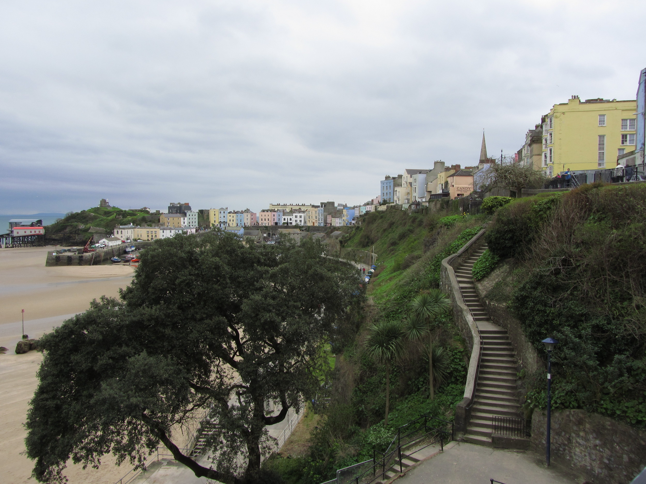 Tenby stairs