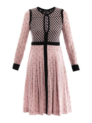 Marion Print dress