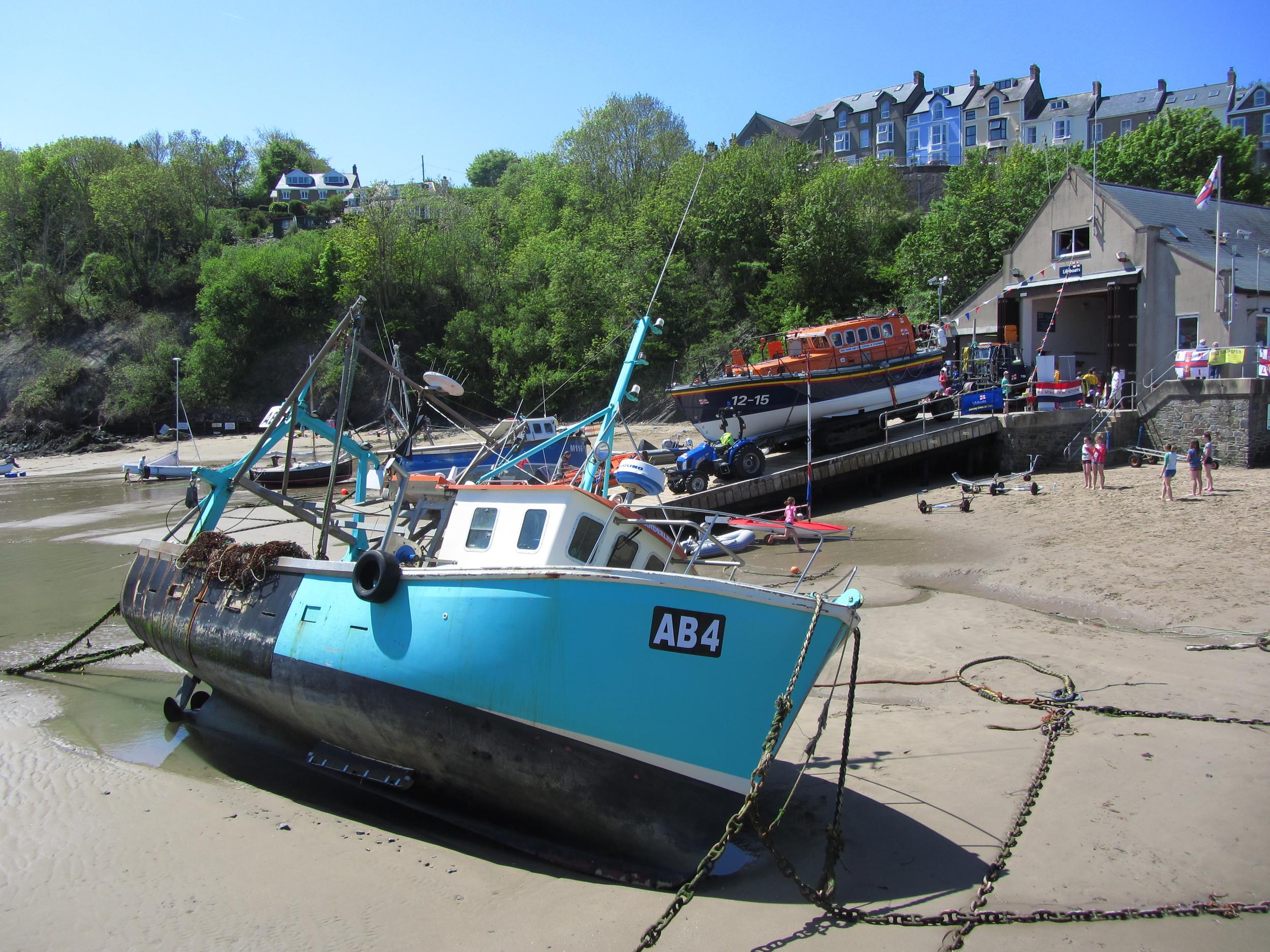 New Quay boat