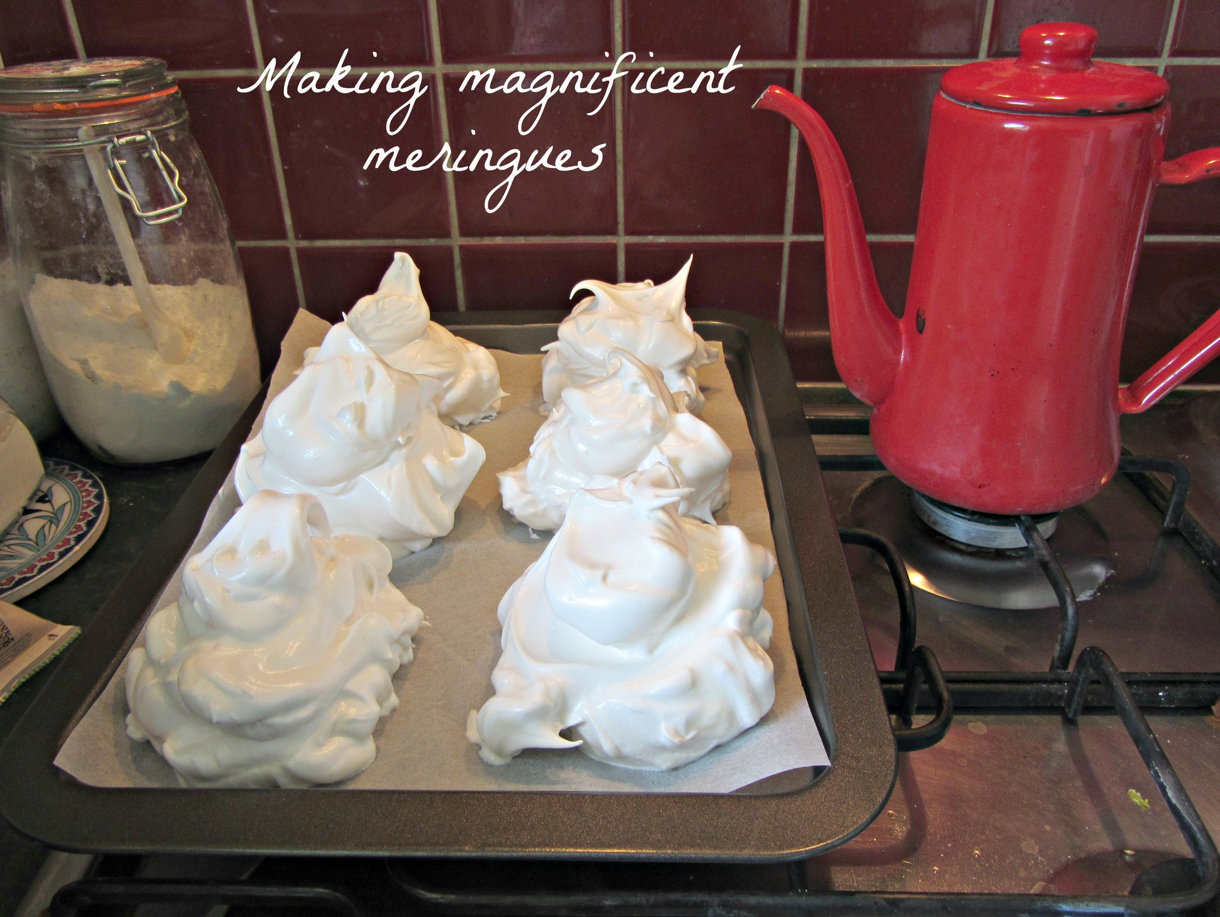 Making magnificent meringues