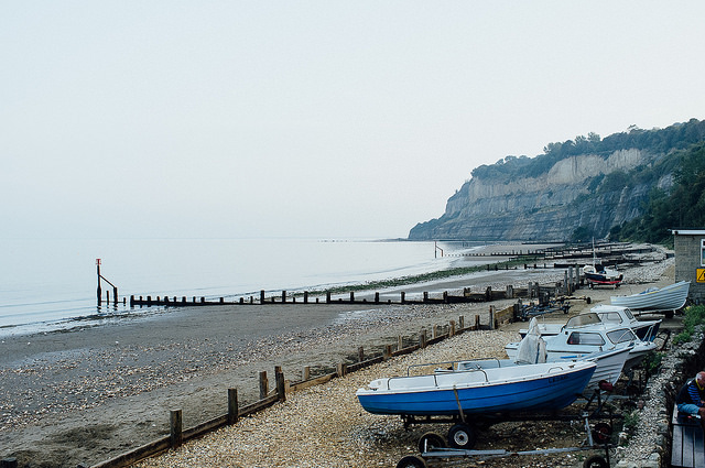 Shanklin beach, Isle of Wight, UK