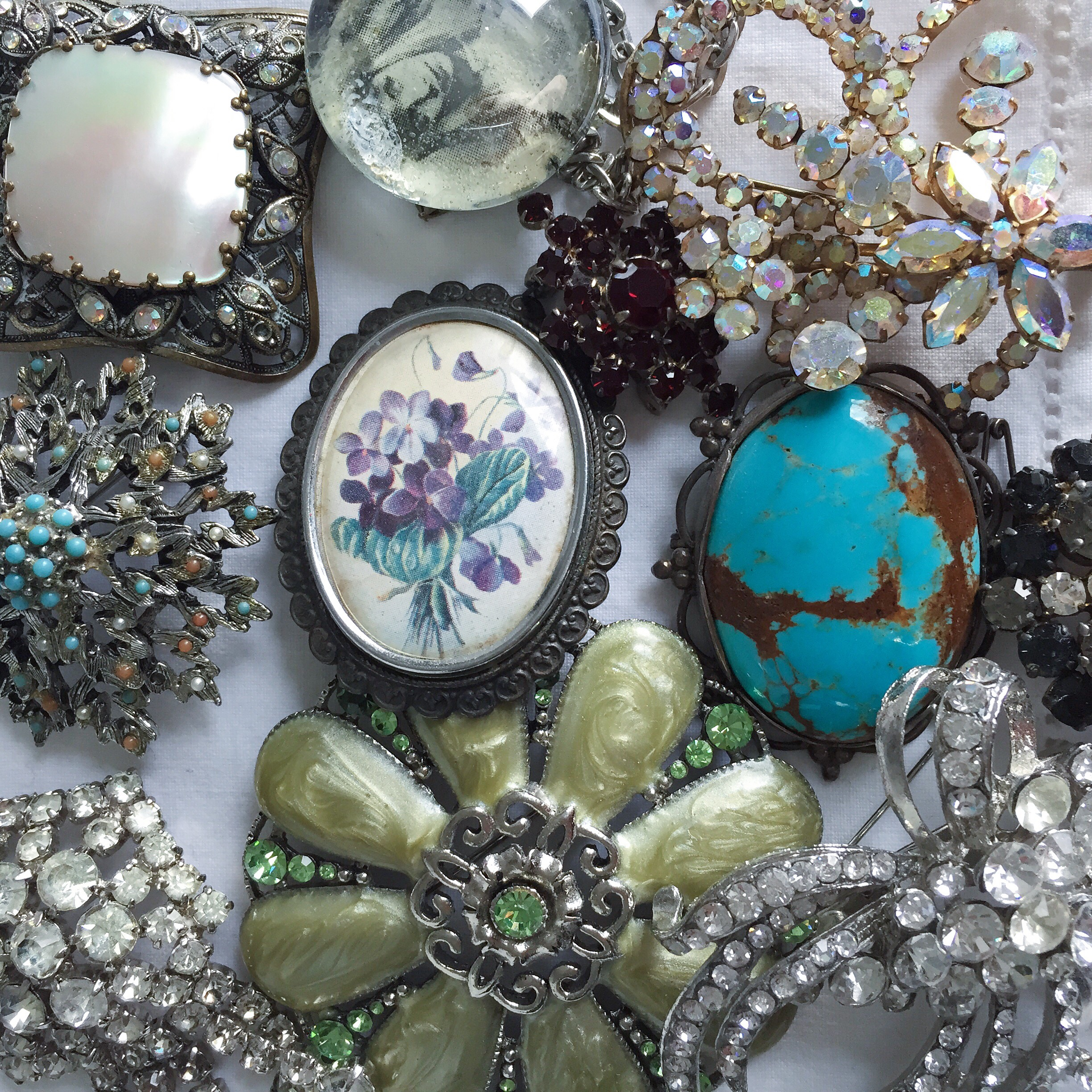 The modern collector: brooch collection