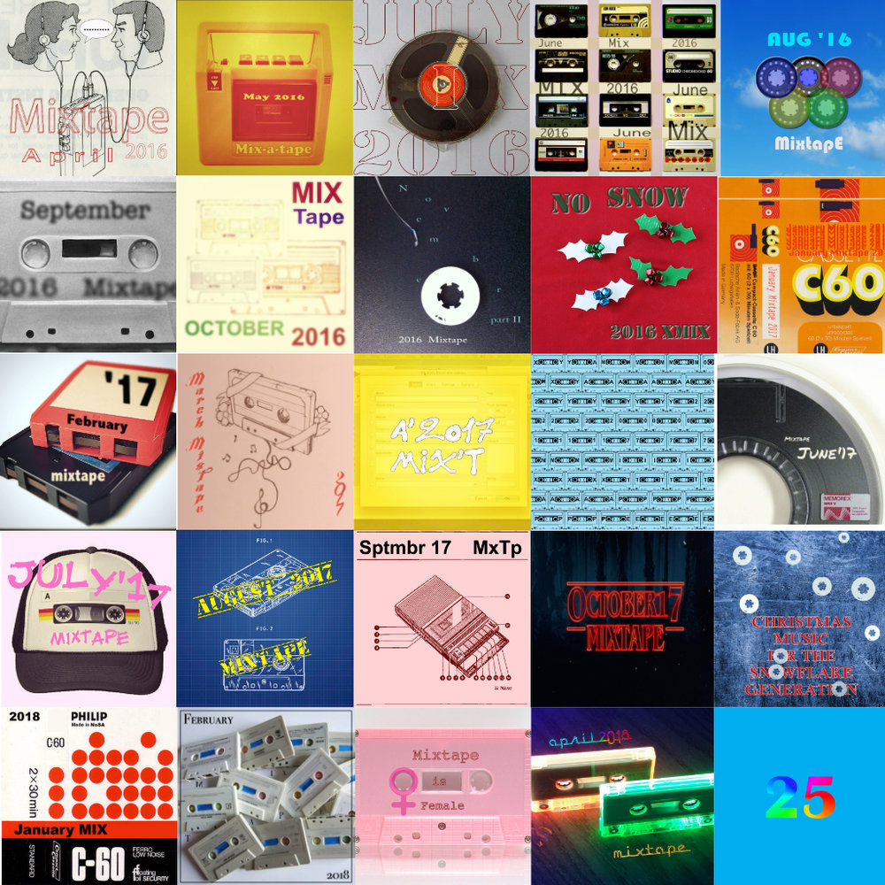 MixTape #25 is here! - Hello everyone! After two months break we are back with our regular service. As it happens, this month's selection is the 25th playlist put together by NoSnobAllowed with cooperation with TakeYourSeats blog.