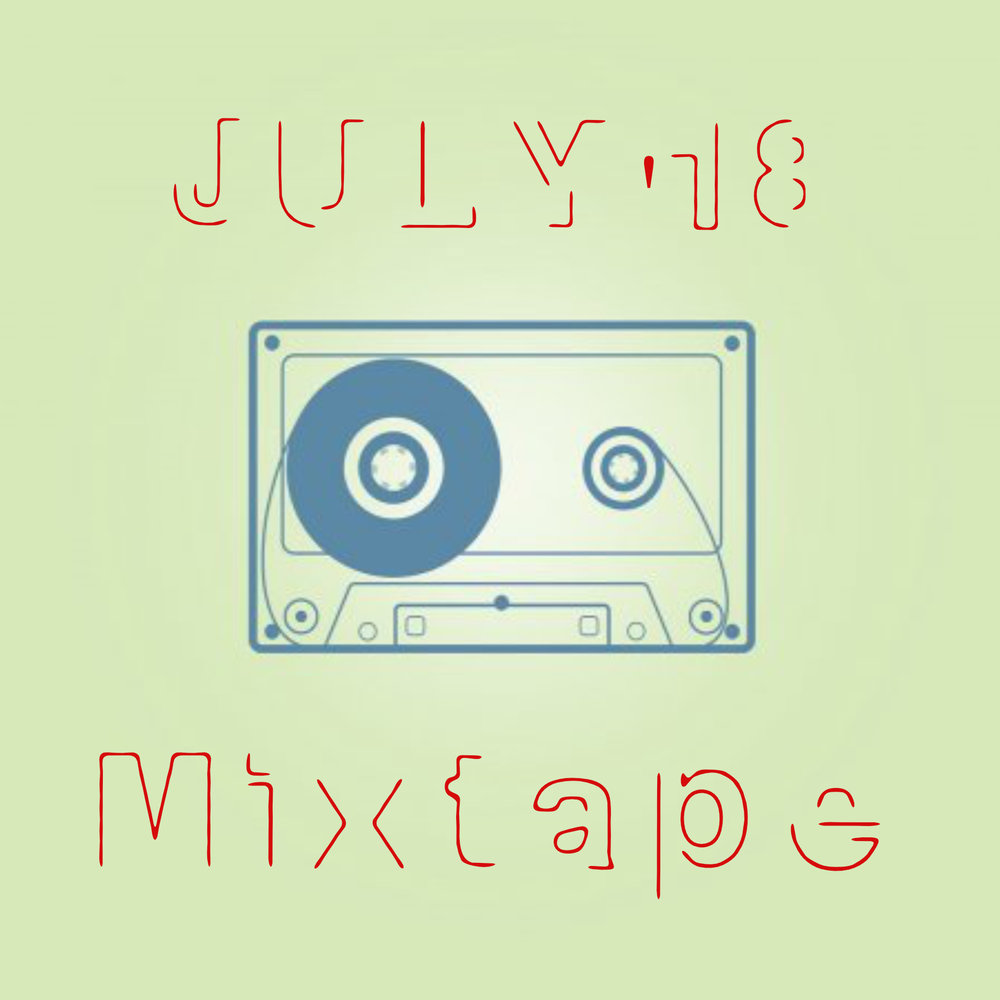 JULY MixTape ready! - Compact and neatly packed like your vacation luggage, ready to be taken with you, anywhere you plan to go to.